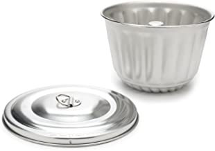 Fox Run 2 Quart Steamed Pudding Mold and Lid