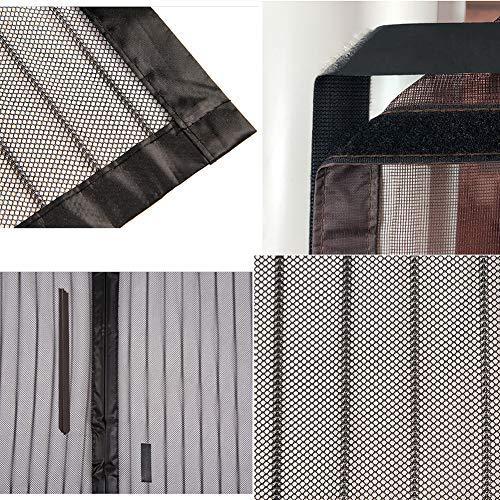 DYR Anti Insect Bug Off Magnetic Mesh Bug Screen Door, Pantalla de Puerta de Malla Resistente a Prueba de Viento con imán, Auto Sellado actualizado a 80 x 210 cm (31 x