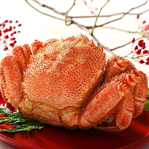 北海道 稚内産 さくら 毛蟹 1kg前後【送料無料】 毛ガニ カニ かに 特大 お土産 お取り寄せグルメ かにみそ 味噌