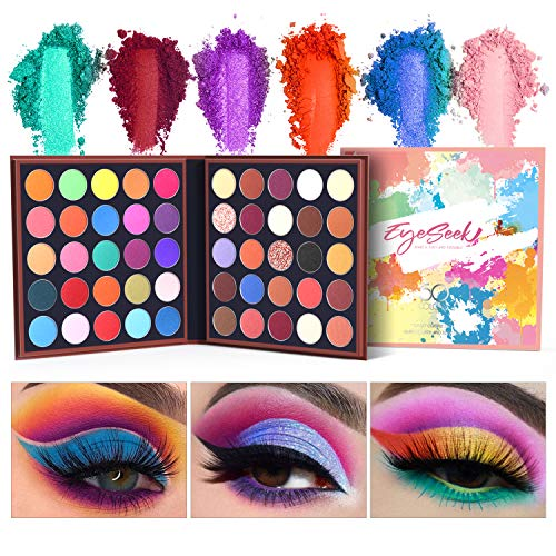 small EYESEEK Matte 50 colors Highly colored colorful eyeshadow palette Makeup palette…