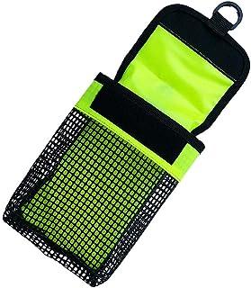 perfk Kleine Netztasche mit Haken Hüfttasche Gürte Tasche für Scuba Diving Reel Taucherboje Signalboje Markierungsboje Halter