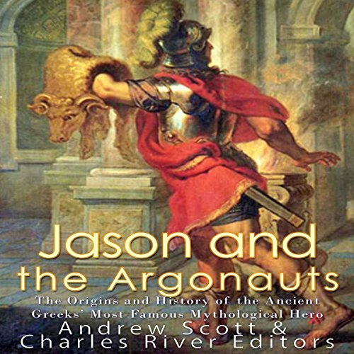 Jason and the Argonauts audiobook cover art