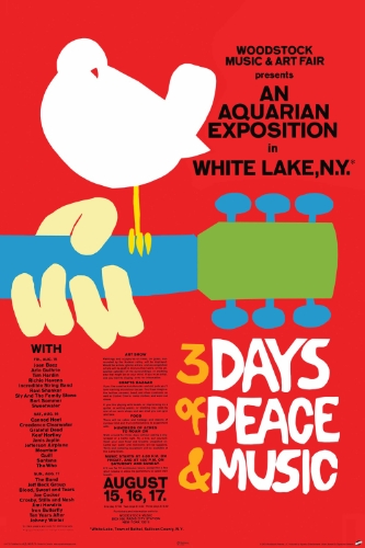 Price comparison product image NMR 24772 Woodstock Poster Decorative Poster
