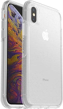 OtterBox SYMMETRY SERIES para iPhone X (solamente ) -  Empaque Retail  - STARDUST  ( Transparente con diamantina plateada)