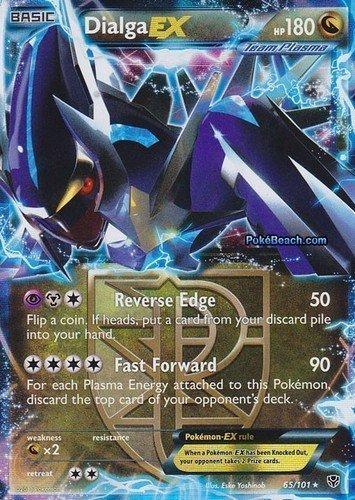 Dialga Ex Plasma Blast 65/101 Pokemon Card Rare by Nintendo [Toy] by Nintendo
