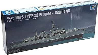 Trumpeter 04544 HMS Type 23 Frigate Kent(F78), 1/350 Scale Plastic Model Kit