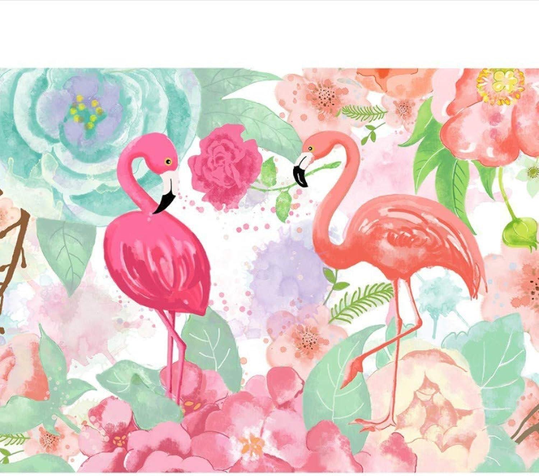 The 5D DIY Diamond Painting Cartoon Flamingos 3D Diamond Painting Full Rhinestones Diamant Paintings Animal Embroidery,45x60cm