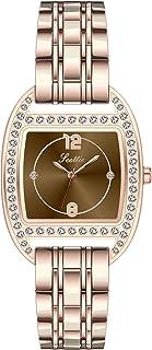 RORIOS Relojes Mujer Impermeable Analogico Relojes con Banda de Acero Inoxidable Relojes de Pulsera Moda Vestir Relojes pa...
