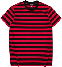 Best red black and white striped shirt Reviews