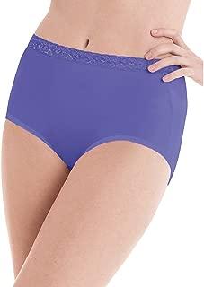Women's Nylon Brief Panties 6-Pack