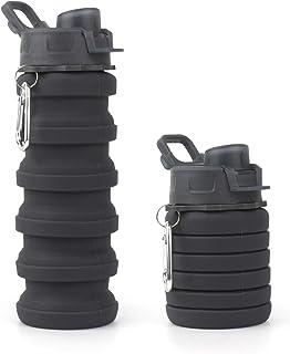 Putron Opvouwbare waterfles, intrekbare opvouwbare siliconen koffiekop, milieuvriendelijke reisbeker, voor kamperen/Gym/wa...