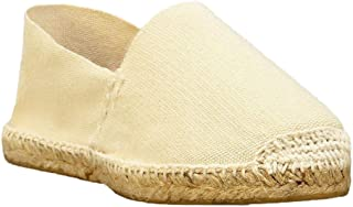DIEGOS Women's Men's Espadrilles. Hand Made in Spain. (EU 37, Ivory)