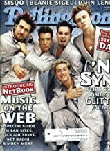 Rolling Stone March 30 2000 #817 Justin Timberlake with 'N Sync Cover, Steely Dan, John Lennon, Sisqo, Beanie Sigel