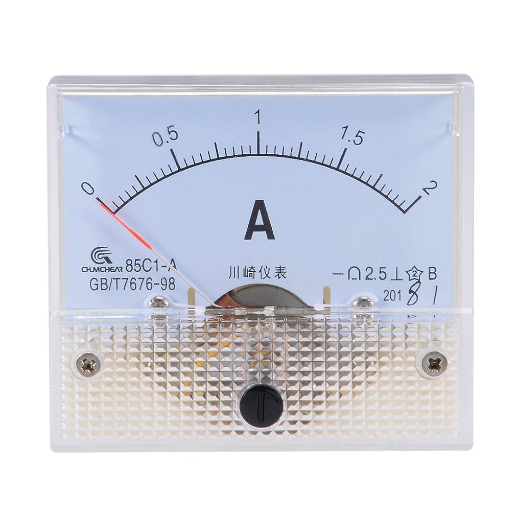 広い攻撃的同種のuxcell DCアナログ電流パネルメーター 多機能測定装置 直流電流計 85C1-A DC 2A