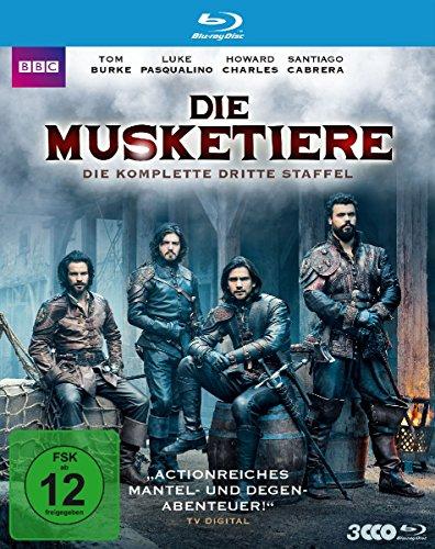 Die Musketiere - Die komplette dritte Staffel [Blu-ray]