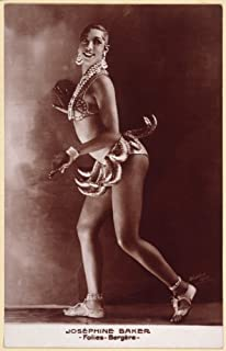 Posterazzi GLP469052LARGE Poster Print Collection Josephine Baker (1906-1975). /American Entertainer. Photographed C1929 In Paris. Poster Print By, (18 X 24