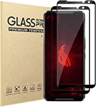Asus ROG Phone 2 Screen Protector Tempered Glass Anti Scratch HD Clear High Responsive Tempered Glass Screen Protector for Asus ROG Phone II 2019 Release [2 Pack]