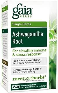 Gaia Herbs, Ashwagandha Root, 60 Capsules