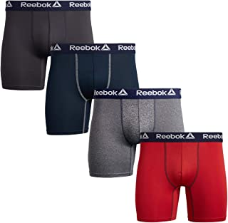 Men's 4 Pack Performance Boxer Briefs with Comfort Pouch
