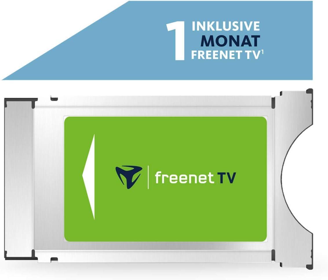 freenet TV Módulo HD con 1 Mes de televisión Gratuita para Antena (DVB-T2 HD).