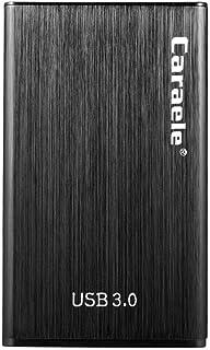 H HILABEE Disque Dur Externe USB 3.0 500 Go / 1To / 2To Portable 2.5 '' en Alliage D'aluminium Stockage SATA HDD Couleur N...