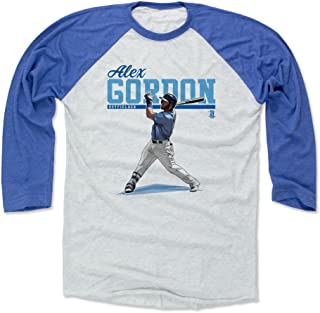 500 LEVEL Alex Gordon Shirt - Kansas City Baseball Raglan Tee - Alex Gordon Play