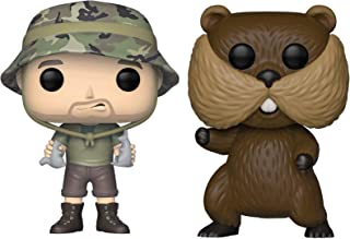 Funko Pop! Movies: Caddyshack - Carl and Gopher Figures Set of 2 - in Bubble Pouches