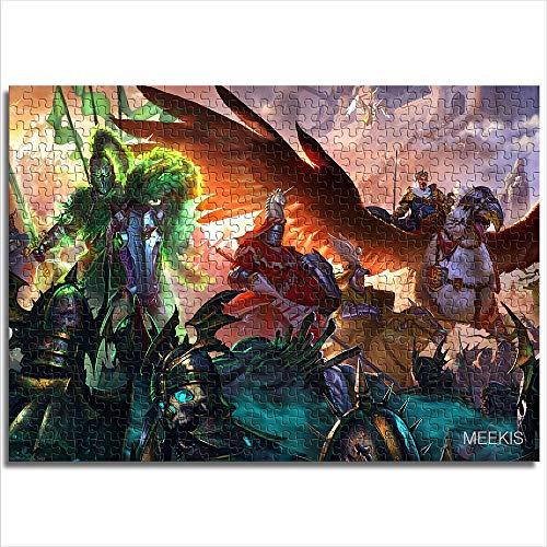 yuhho 1000 Pezzi Warhammer Total War Warhammer Toy Puzzle Fun Toy Gift 50x75