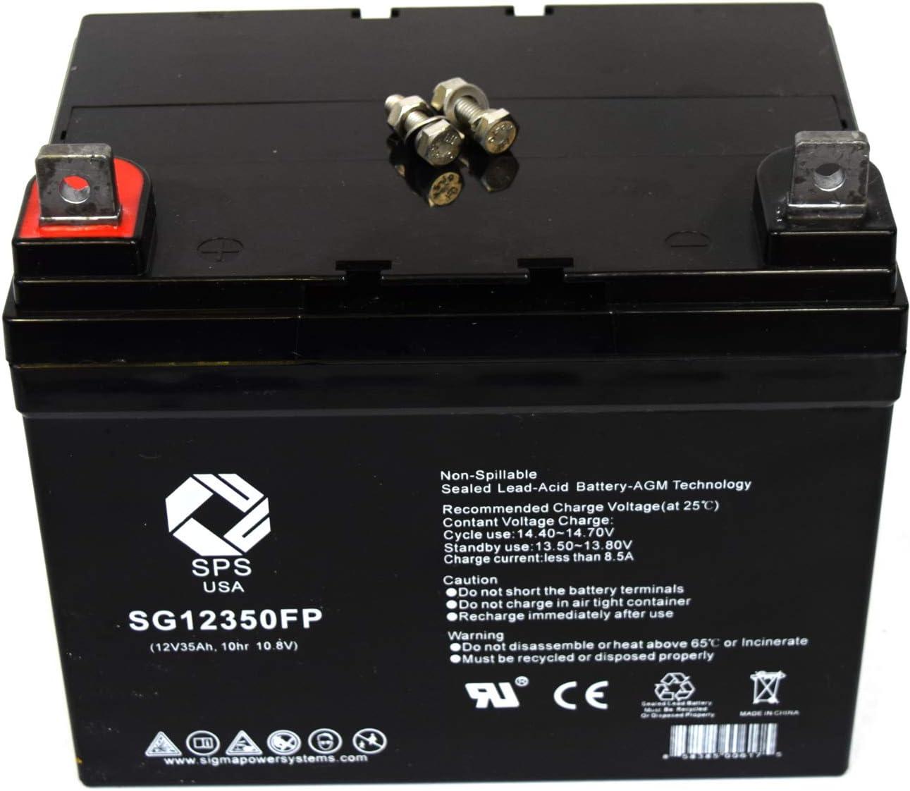 SPS Brand Translated 12V 35Ah SLA for Revolution Battery Replacement Mobili Ranking TOP20