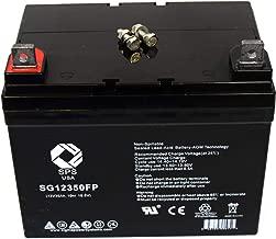 SPS Brand 12V 35Ah SLA Replacement Battery for Golden Technologies Compass Sport GP605CC Wheelchair U1