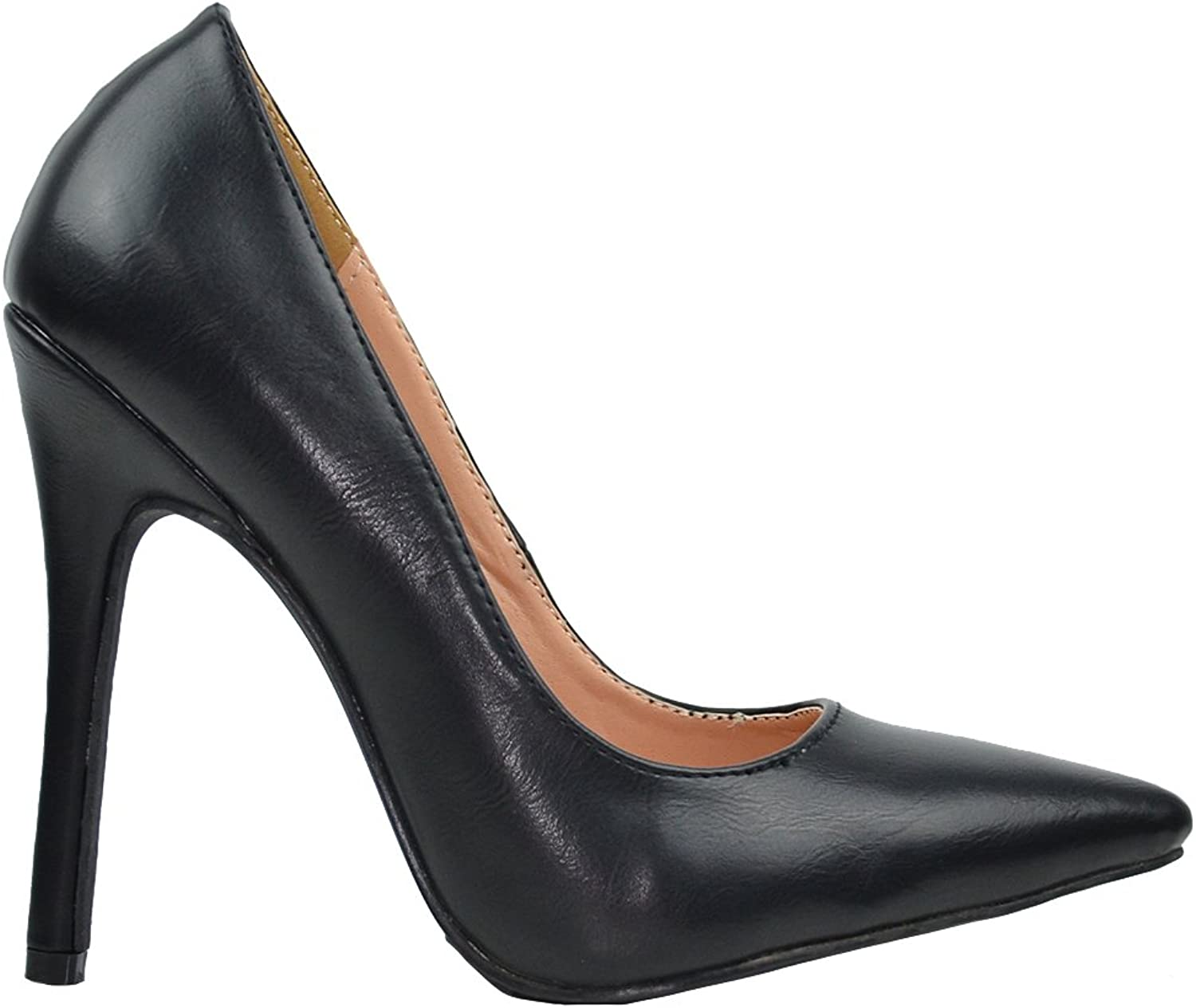 Chase & Chloe Lala-4 Women's Pointy Toe Pump