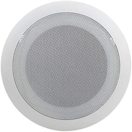 BeMatik - Altavoz de Techo Redondo de 10W 177 mm 5'