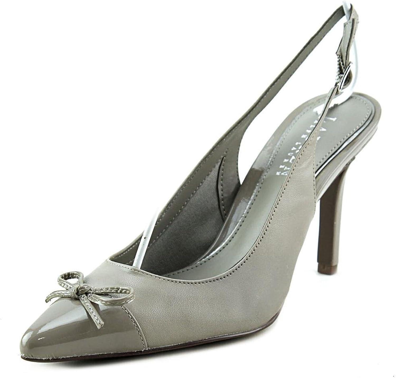 Lauren Ralph Lauren Sienna Women US 5 Black Slingback Heel