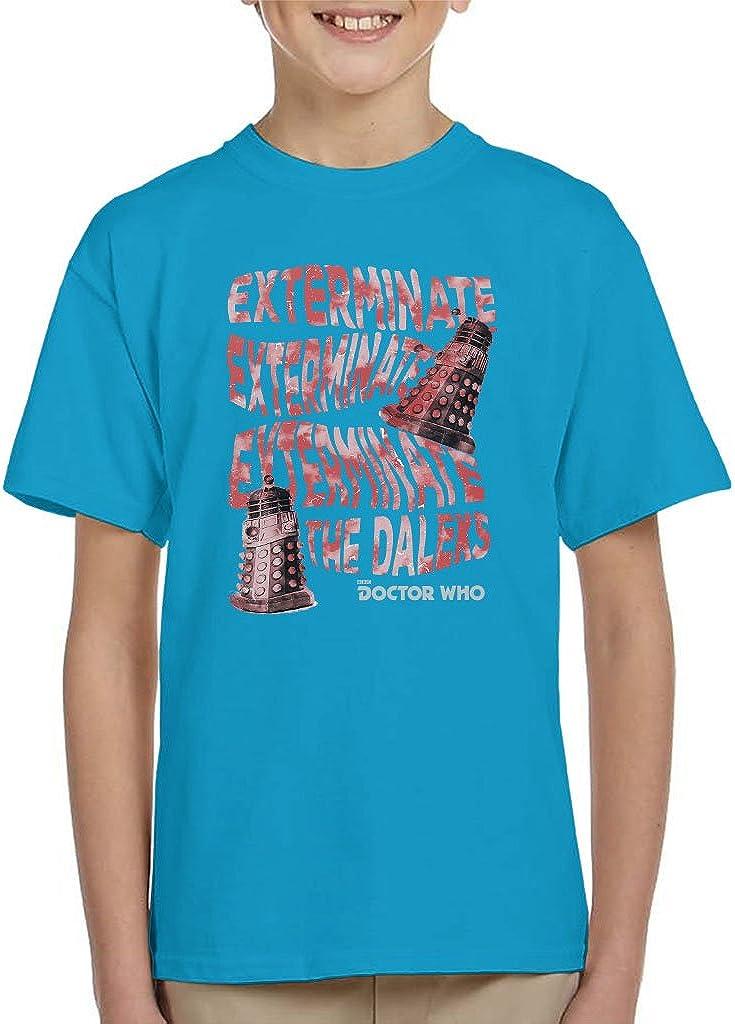 Doctor Who Warped Daleks Kid's T-Shirt