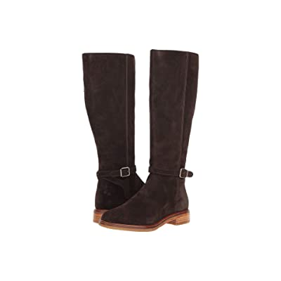 Clarks Clarkdale Clad (Dark Brown Suede) Women