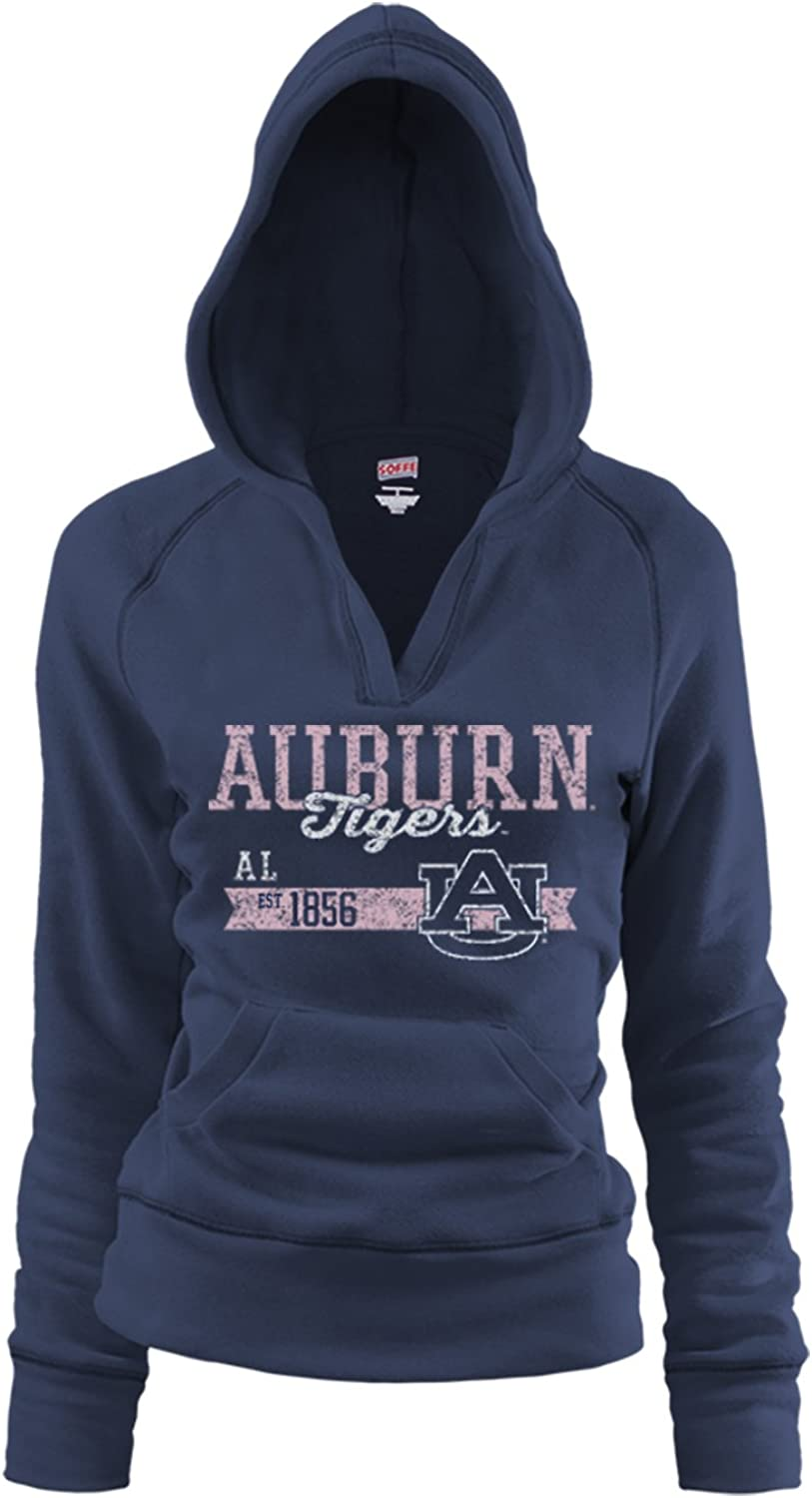 NCAA Auburn Tigers Junior Rugby Deep College Logo Fleece Hoodie