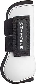 John Whitaker Set of Tendon and Fetlock Boots Full Size White