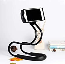 Lazy Cell Phone Holder for Neck, 360 Degree Free Rotating Mount, Universal Tablet Holder Mobile Phone Stand Bracket for Phone, iPad, Kindle