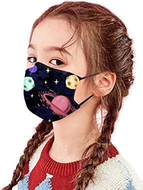 KYLEON 5pcs Kids Children Daily Use School Use Cute Print, Halloween Christmas Party Use