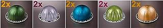 Nespresso Vertuoline Alto Coffee Sampler - A Total of 10 Capsules Pods