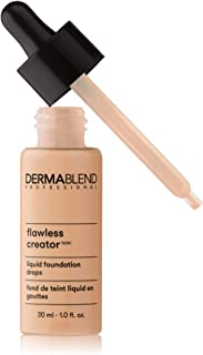 Dermablend Flawless Creator Multi-Use Liquid Foundation Makeup, Full Coverage Lightweight Buildable Foundation, Oil-Free, Fl. Oz.