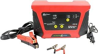 メルテック バッテリー充電器(HV車対応) DC12V 定格8A ISS車用充電機能付 バッテリー交換機能付き 長期保証3年・アタッチメントクリック付 Meltec PCR-10