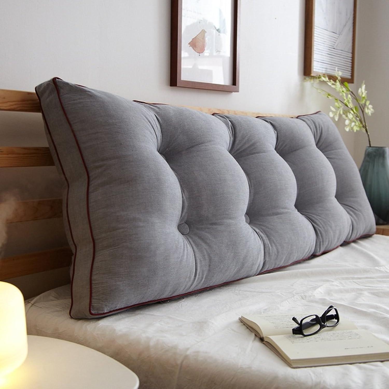 Coussins, coussins de chevet, coussin, coussin, doux, sac, grand, dossier, taille ( Couleur   gris , taille   1002050cm )