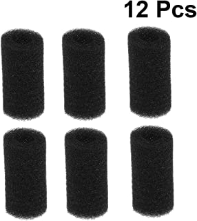Yardwe 12 Pack Tail Sweeps Scrubber Replacement Sweep Hose Tail Scrubber Fish Tank Pre-Filter Sponge Pool Cleaner Parts Compatible for Polaris Vac-Sweep Pool Cleaner (22mm)