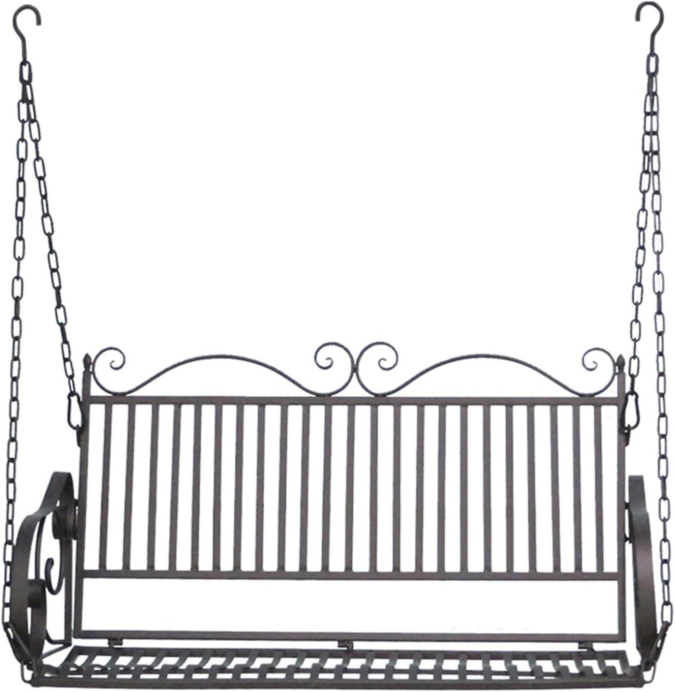 Outdoor Metal price Porch San Francisco Mall Swing Garden Weather-Resistant Bench Hangin