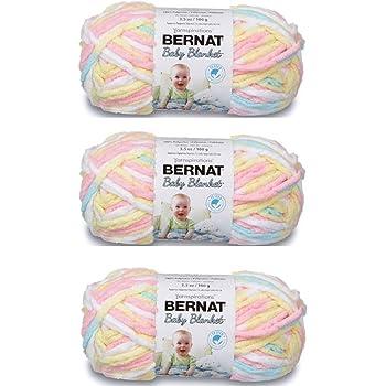 Bernat Baby Blanket Yarn (3-Pack) Pitter Patter 161103-03616