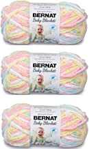 Bernat Baby Blanket Yarn (3-Pack) Pitter Patter 161103-03616
