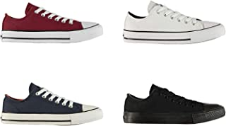 SoulCal Low Canvas Shoes Juniors Boys Casual Trainers Sneakers Plimsoll Footwear