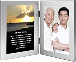 My Hero, My Dad – Birthday or Christmas Gift for Father from Son or Daughter, Add Photo
