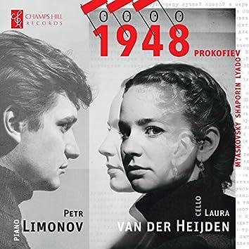 1948: Russian Works for Cello & Piano